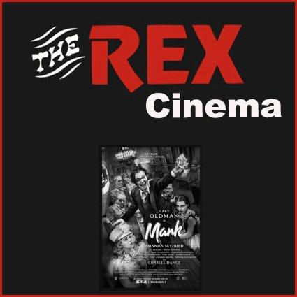 Mank movie at the Rex Cinema in Wareham