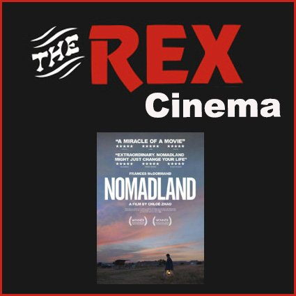 Nomadland at the Rex Cinema in Wareham on the 30 June 2021