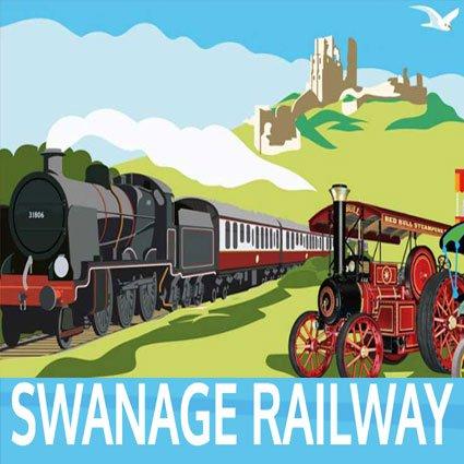 Swanage-Railway-Fair-attraction