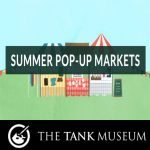 Summer Market at the Tank Museum near Wareham