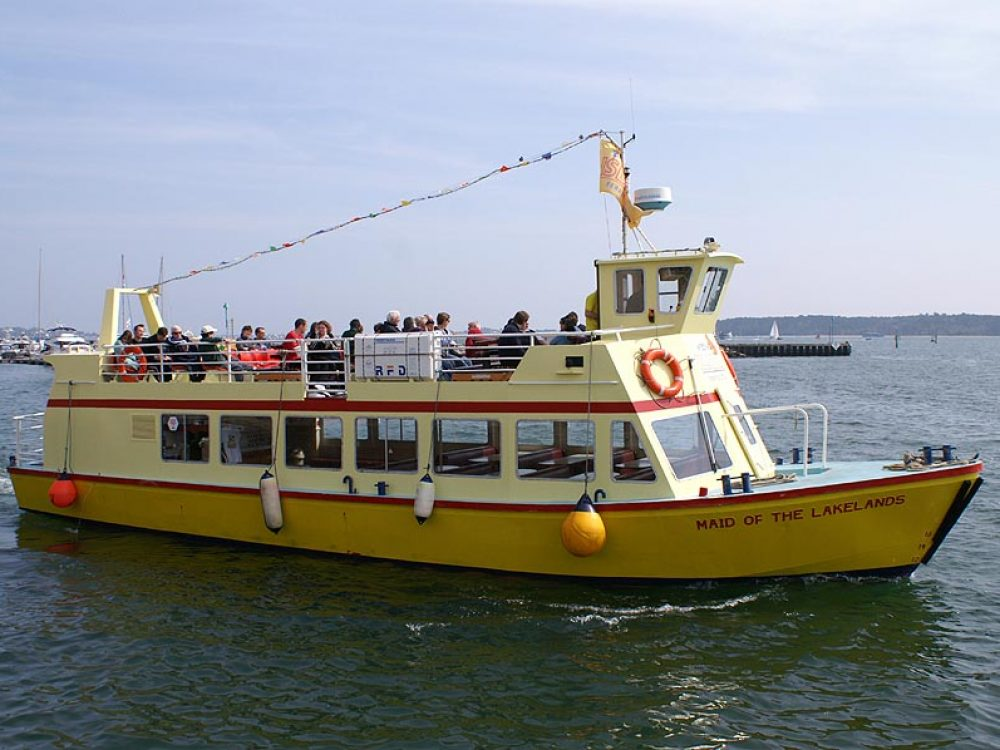 Brownsea boat