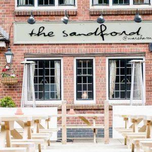 The Sandford Pub in Wareham
