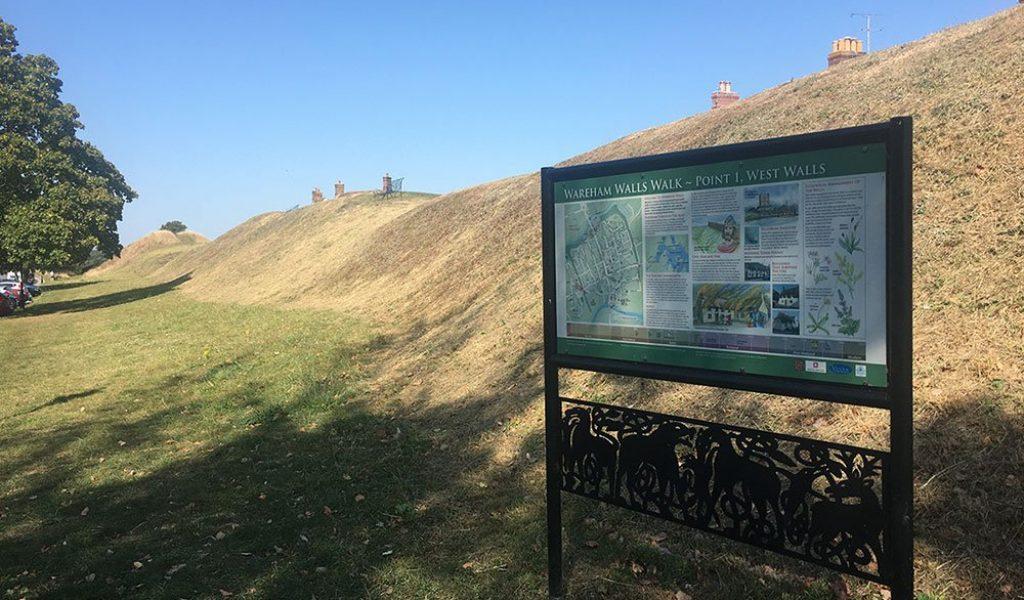 Wareham-west-walls-and-sign